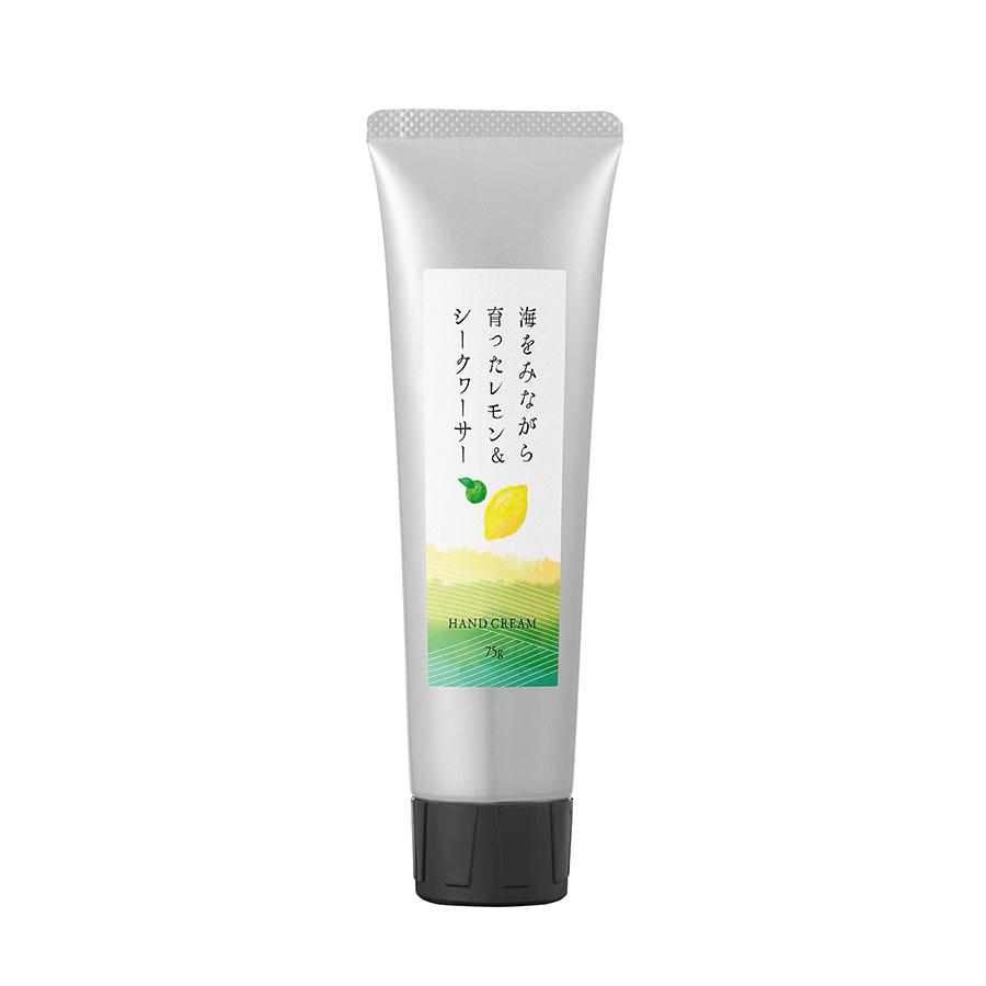瀬戸内レモン レモン&シークヮーサー ハンドクリーム 75g